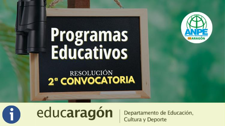 programas-educativos-resolución-2ª-convocatoria